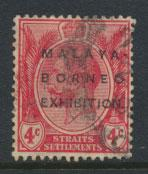 Straits Settlements George V  SG 252  Used   Opt