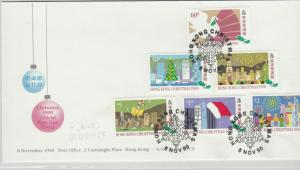 Hong Kong Stamps Cover 1990 Ref: R7542