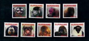 [100531] Suriname 2009 Wild Life Primates Monkeys Affen  MNH