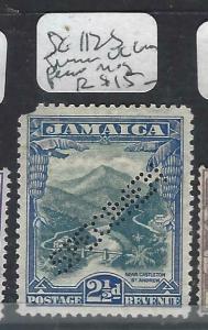 JAMAICA   (P3103B)   COMMEM 2 1/2D  SG 123S SPECIMEN UL CORNER ROUNDED  MOG