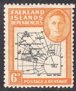 FALKLAND ISLANDS SCOTT 1L6