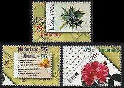 HERRICKSTAMP NETHERLANDS Sc.# B635-37 Filacept 1988 S.P.