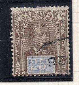 Sarawak 1918 Early Issue Fine Used 25c. 276162