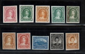 New Brunswick #7TC #7TCi #7P #8P #8Pi #8TC #9P #10P #11P #11TC Very Fine Proofs