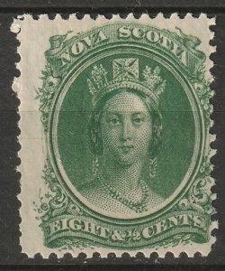 Nova Scotia 1860 Sc 11 MLH*