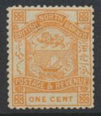 North Borneo  SG 37  no gum no cancel  please see scans & details