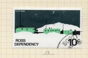 Ross Dependency 1972 Early Issue Fine Used 10c. 174653