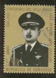 Honduras  Scott C396 Used airmail stamp