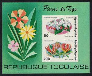 Togo Flowers of Togo MS Imperforated SG#MS1058 SC#C243a