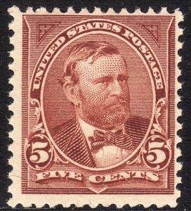 1894 U.S Ulysses S. Grant 5¢ issue MNH Sc# 255 CV $360.00