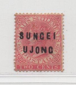 Malaya Sungei Ujong - 1882-84 - SG21 - 2c Pale Rose - MH #637