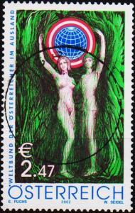 Austria. 2002 2e47 S.G.2651 Fine Used