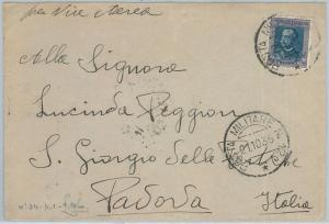 72007 - AOI  ERITREA  - Storia Postale: BUSTA - POSTA MILITARE 12 - 1935