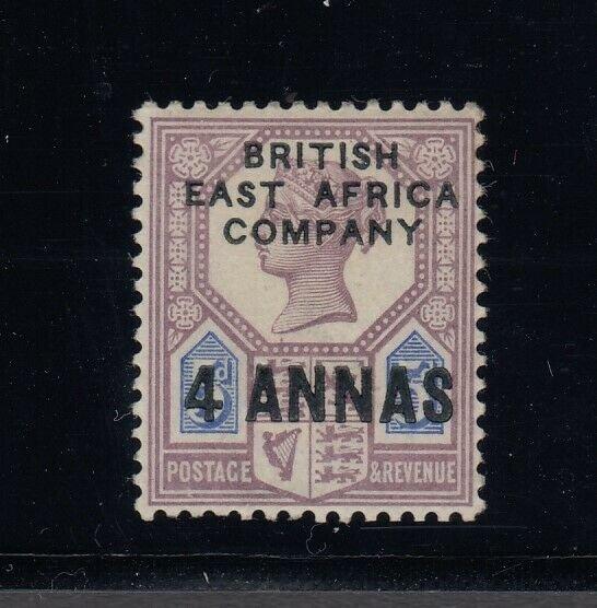 British East Africa, Sc 3 (SG 3), MLH