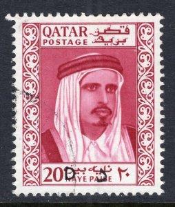 Qatar 108B Used VF