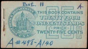 MALACK 498e BK53 COMPLETE BOOK, ink on cover, Scarce k0026