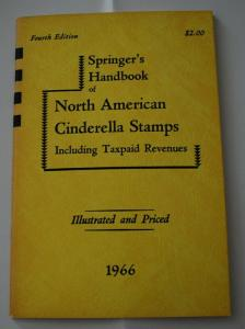 Springer's Cats of Taxpaids, Fantasy stamps. 7 editions + ATA M&M handbook 66