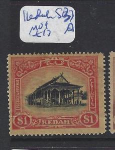 MALAYA KEDAH (P1111B)   $1.00  SG 37   MOG
