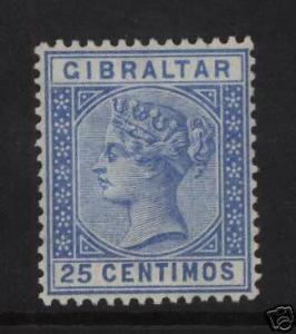 Gibraltar #32 VF Mint