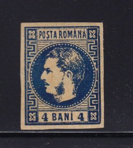 Romania Scott # 35 VF mint OG light hinged nice color scv $ 55 ! see pic !