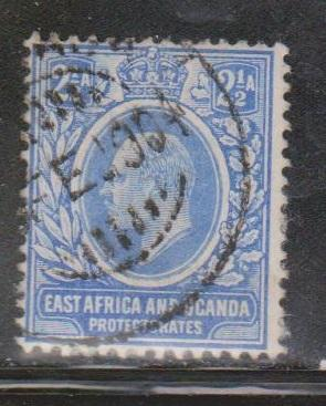 EAST AFRICA & UGANDA Scott # 4 Used - KEVII Definitive
