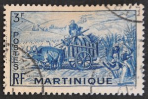DYNAMITE Stamps: Martinique Scott #225 – USED