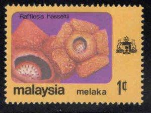 Malaysia Malacca Scott 81 MH* Flower stamp