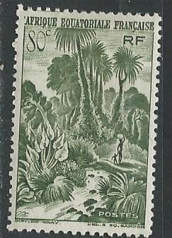 French Equatorial Africa  + Scott # 171 - MH