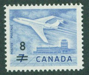 CANADA Scott 430 MNH** 1964 surcharged stamp