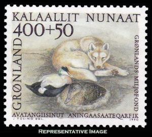 Greenland Scott B14 Mint never hinged.
