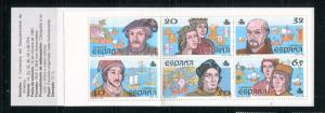 Spain #2536a Booklet MNH