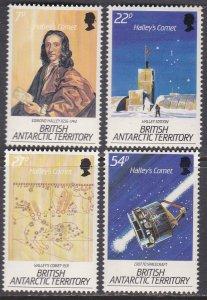 British Antarctic Territory Sc #129-132 MNH; Mi #132-135