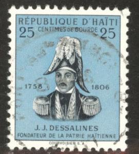 HAITI Scott 409a used stamp