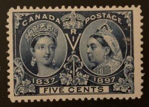 Canada #54 F-VF Mint NH Jubilee - C$210.00