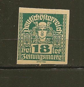 Austria P38 Issues of Monarchy Mint Hinged