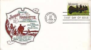 United States, First Day Cover, Ships, Michigan