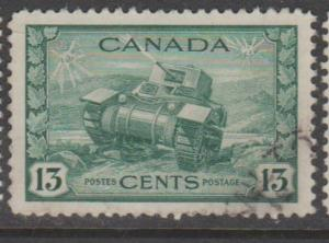 Canada Scott #258 Stamp - Used Single