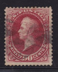 155 F-VF used with neat cancel and nice color cv $ 350 ! see pic !