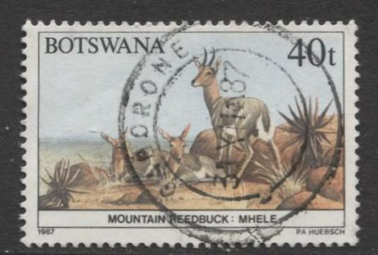 Botswana - Scott 418 - Wildlife Conservation -1987 - VFU - Single 40t Stamp