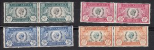 J28451, 1935 south africa mh set #68-71 king $57.50 scv