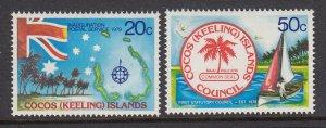 Cocos Islands 32-3 mnh