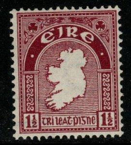 IRELAND SG113 1940 1½d CLARET MNH