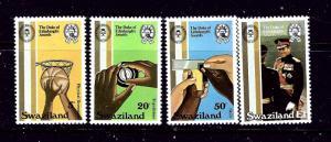 Swaziland 391-94 MNH 1981 Duke of Edinburghs Awards