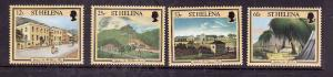 St. Helena-Sc#682-5- id7-unused NH set-Napoleonic sites-1996-