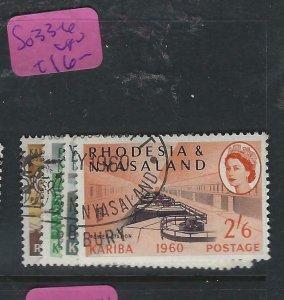 RHODESIA & NYASALAND (PP2003B)  KARIBA DAM  SG 33-6   VFU