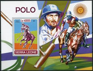 SIERRA LEONE 2017 POLO  SOUVENIR SHEET MINT NH