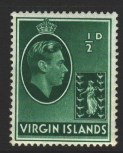 British Virgin Islands Sc#76 MNH - small tone spot