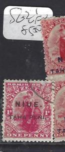 NIUE    (P0310B)  SG 21   1D    VFU