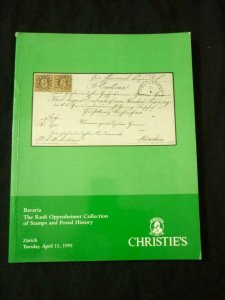 CHRISTIE'S AUCTION CATALOGUE 1995 BAVARIA THE 'RUDI OPPENHEIMER' COLLECTION