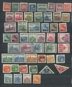 Bohemia & Moravia 1939 Mi 1-52 MNH/MH Complete Year (-4 Stamps) CV 85 Euro